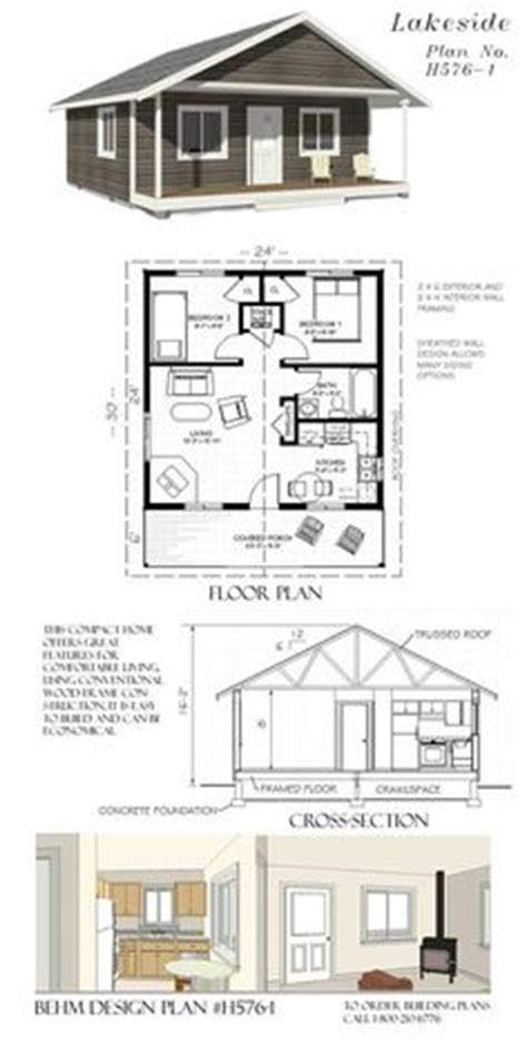 24x24 cottage plans two bedroom 24x24 plan mostly small houses