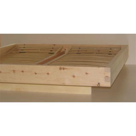 da letto in legno letto in legno massello cirmolo senza parti metalliche