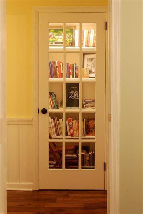 Library Closet by Convert A Closet Into A Library And Add A Door To