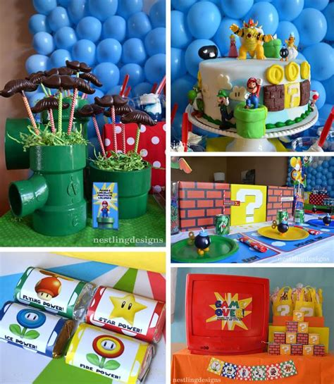 kara s party ideas super mario party planning ideas cake