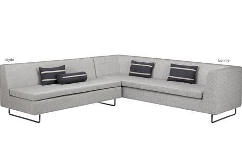 blu dot bonnie sofa blu dot bonnie sofa bonnie clyde modular fabric sectional