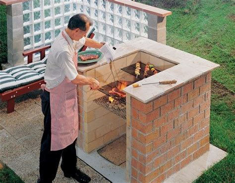 make your own portable pit 17 best ideas about brick grill on diy grill