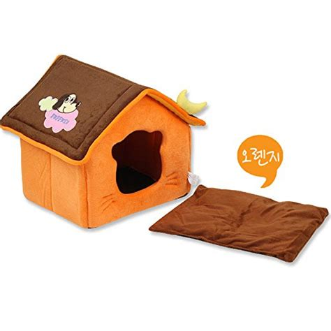 warmest dog house wemore tm cute moon pet dog house soft fleece winter warm