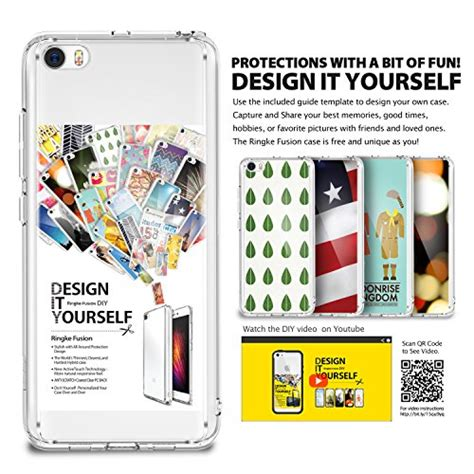 Ringke Fusion Shockproof Clear View Xiaomi Mi5 Mi 5 xiaomi mi 5 ringke fusion clear pc back tpu import it all