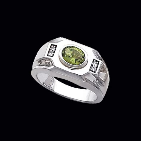 Men's East West Gemstone Ring