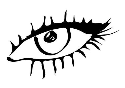 imagenes ojos para colorear dibujo para colorear ojo img 10177