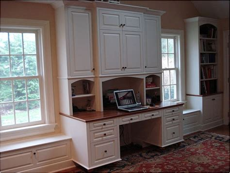 Bookcase With Built In Desk by Duggan Woodworking Built In Desk Bookcases