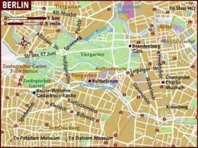 berlin map of germany map of berlin