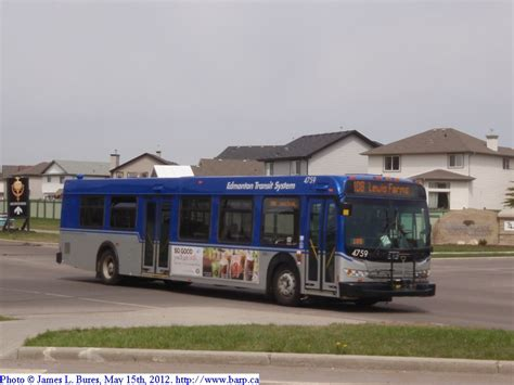 West Edmonton Mall Garage by Edmonton Transit System 2009 New Flyer D40lfr S 4754 4874