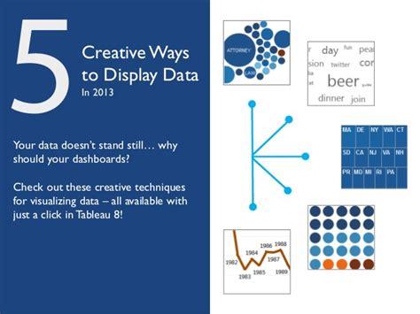 5 Creative Ways To Display Data Creative Ways To Present Data