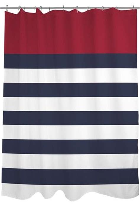 nautical stripe curtains 25 best ideas about nautical shower curtains on pinterest