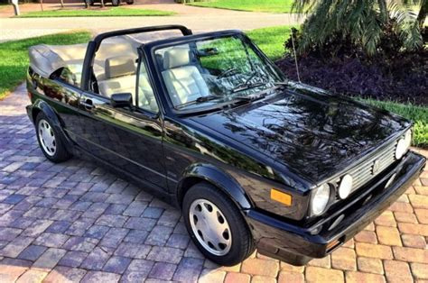 old car repair manuals 1993 volkswagen cabriolet seat position control like new 1993 volkswagen cabriolet collector edition two owner 28k miles for sale photos
