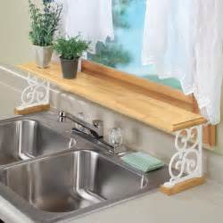the sink shelf kitchen