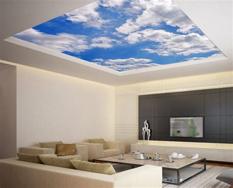 Cloud Decals For Ceiling by Ceiling Clouds Wallpaper
