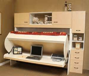 Double Loft Bed With Desk Desk Bed More Space Place