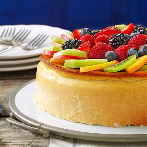 is ny style cheesecake refrigerated crustless new york cheesecake recipe taste of home