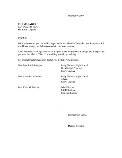 Business Letter Exle With Semi Block Style Semi Block Business Letter Format Sle Business Letter