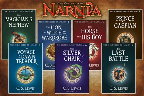 chronicles of narnia series author series the chronicles of narnia by cs lewis complete