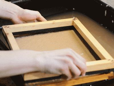 Handmade Paper Manufacturing Process - handmade gif find on giphy