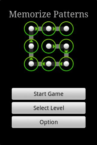 master pattern lock android memorize pattern v1 2 android game android pdroms