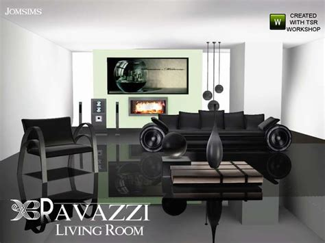 Sims 2 Living Room by The Sims Resource Tsr Ravazzi Livingroom By Jomsims