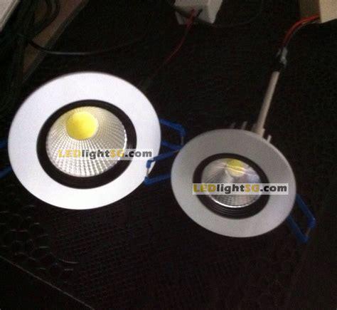 Downlight 3watt 3watt led cob downlight warm white
