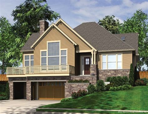 House Plans For Sloped Land Sloped Lot House Plans Homeowner Benefits