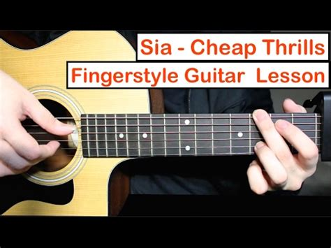 guitar tutorial video free download sia cheap thrills easy guitar lesson chords mp3 download