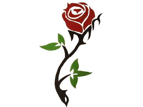 simple rose tattoo outline simple designs www imgkid the image kid has it