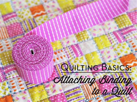 Attaching Binding To A Quilt bijou lovely quilting basics attaching binding to a quilt