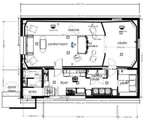 music studio layout basement recording studio layout home studio pinterest