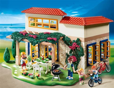 Playmobil Summer House At Growing Tree Toys Playmobil House