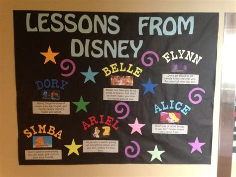 themes in an education the movie lessons from disney educational bulletin board ra ideas