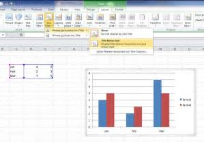 Labels Are Used In A Spreadsheet To How To Label Chart Axes In Excel Pc Advisor