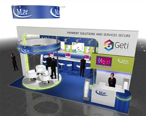 booth design concept activteam custom exhibition booths