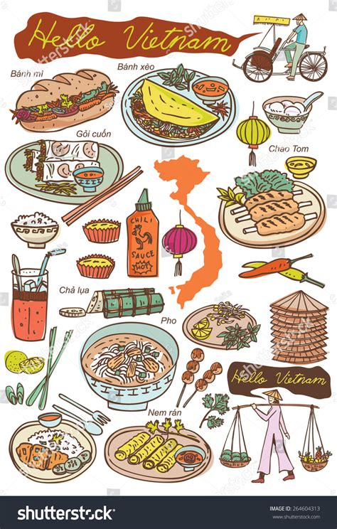 doodle food icons vector set food icons doodles vector stock vector