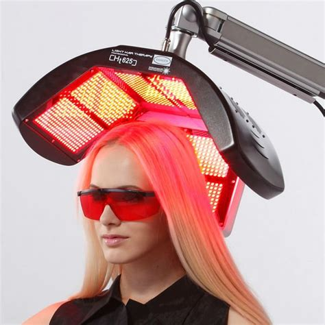 igrow hands free laser led light therapy hair regrowth system led light therapy for hair growth om hair