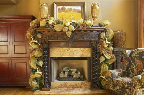 Garland For Fireplace by Deco Mesh Garland The Fireplace Mantle Poly Deco