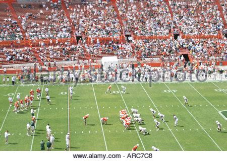 in color at sun stadium in miami gardens orange bowl stadium miami florida usa 1958 stock photo