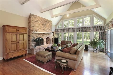 54 Living Rooms With Soaring 2 Story Cathedral Ceilings Cathedral Ceilings In Living Room