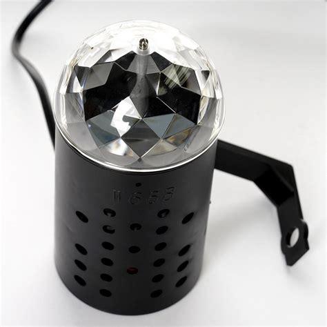 mini disco ball light rotating led crystal mini disco ball stage spot light