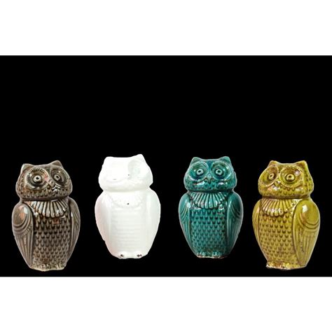 decorative owls home decorators collection assorted wise owls decorative