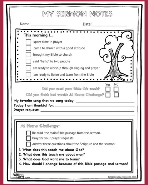 sermon notes template image gallery sermon notes