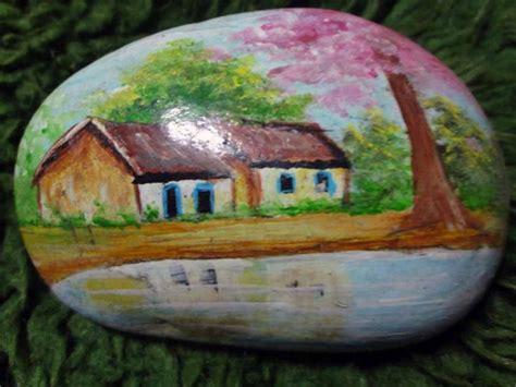 decoração de jardim pedras pintadas pintura em pedras como fazer artesanato cultura mix