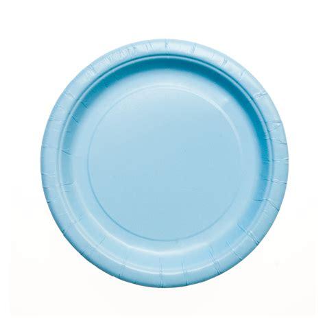 blue plates baby blue paper plates 7 quot