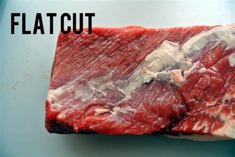 difference between flat cut and point cut brisket eat