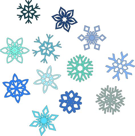 winter pattern png free vector graphic snowflake hexagon snow winter