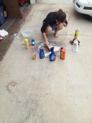 clean spray paint   driveway thriftyfun