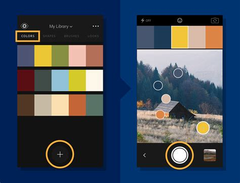 capture your color inspirations with adobe color cc adobe content corner capture color themes adobe creative cloud mobile apps