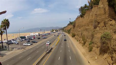 Pch Traffic Santa Monica - pch driving hyperlapse stock footage video 7691575 shutterstock